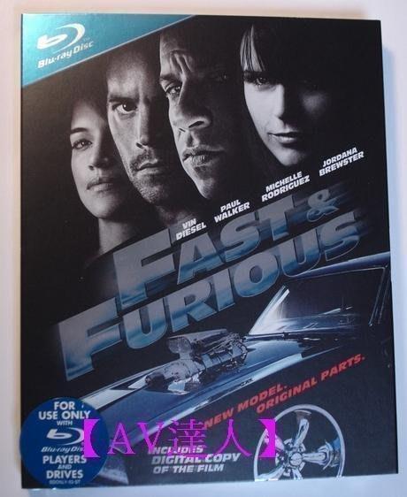 【BD藍光】玩命關頭 4:雙碟+初回外紙盒Fast and the Furious 4(中文字幕) 新視聽推薦軟體