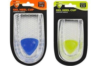 總統體育(自取可刷國旅卡)Sof Sole GEL HEEL CUP 蜂巢式 吸震 凝膠 後跟 鞋墊 杯型 氣墊