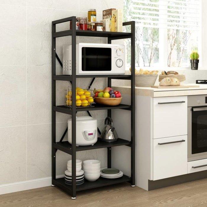 微波爐置物架廚房落地多層廚具置物架收納架子省空間儲物架烤箱架 全館限時免運