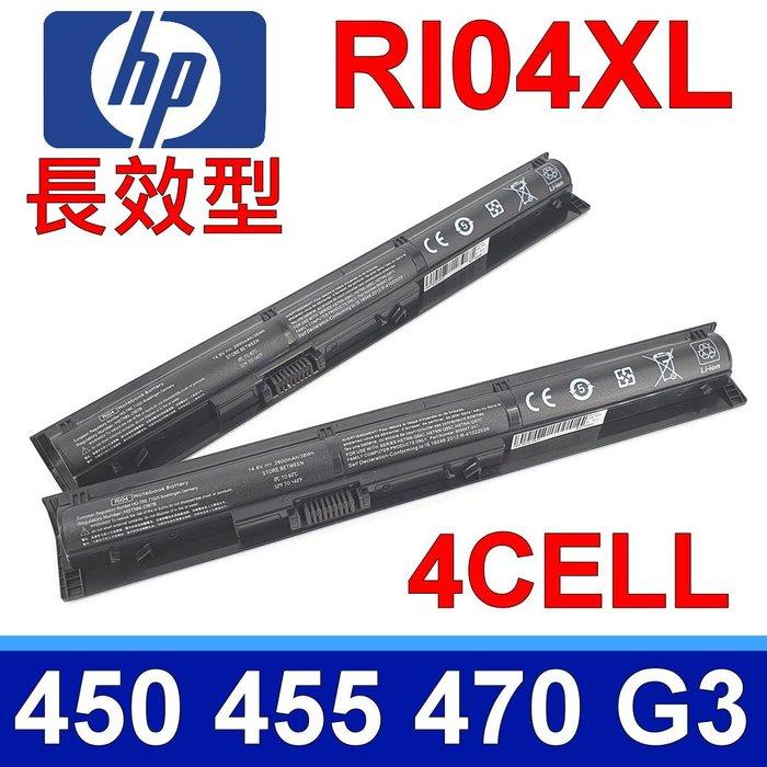 惠普 HP RI04 原廠規格 電池 RI06 Probook 450g3 455g3 470g3 450 470 G3