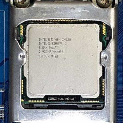 Core i3 530處理器+技嘉GA-H55M-S2V主機板+DDR3 8G記憶體、附風扇與擋板『自取優惠價1599』