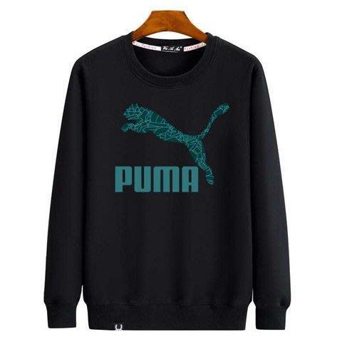 2020年新款puma秋冬圓領運動衛衣大學T愛迪達男女長袖潮流三葉草衣加絨保暖套頭耐吉上衣