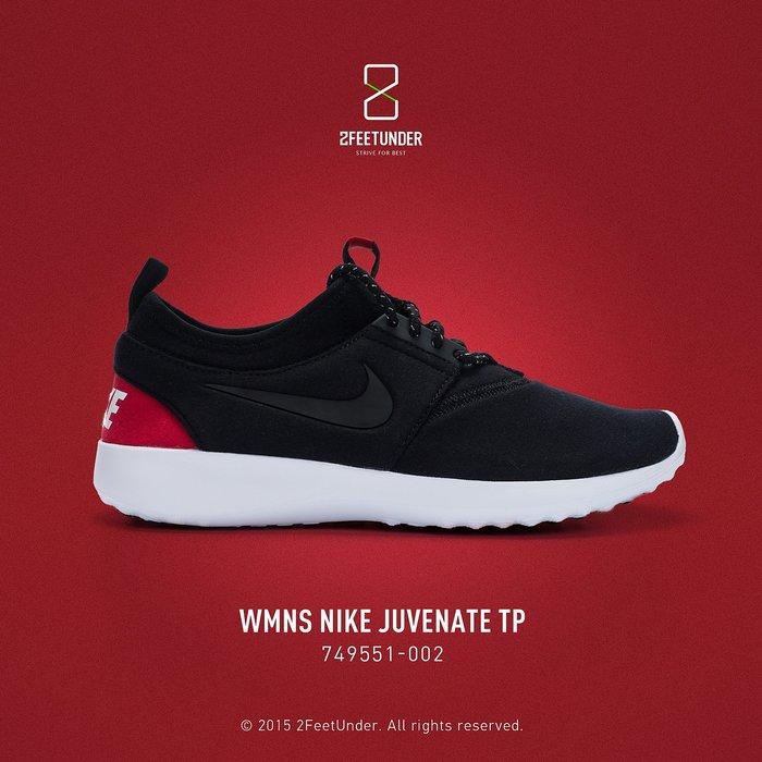 2FeetUnder - Nike WMNS Juvenate TP 黑紅 749551-002