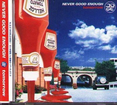 K - NEVER GOOD ENOUGH - TOMORROW - 日版 - NEW