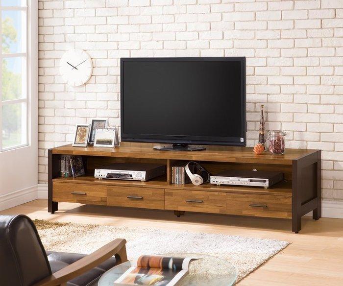 【DH】商品編號VC388-2商品名稱特菲巴6.5尺電視櫃(圖一)備有大小茶几可搭配.台灣製可訂做.新品特價