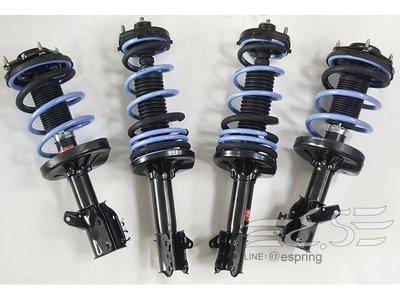 阿宏改裝部品 MAZDA PREMACY KYB 黑桶 避震器 + TS 短彈簧 TRIPLE S 降低 總成