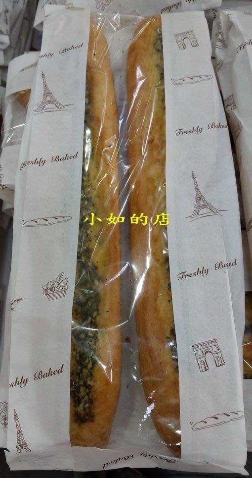【小如的店】COSTCO好市多代購~香蒜長棍麵包(每包2入/共450g)採用美國帕莫桑乳酪+紐西蘭奶油+日本昭和專用麵粉