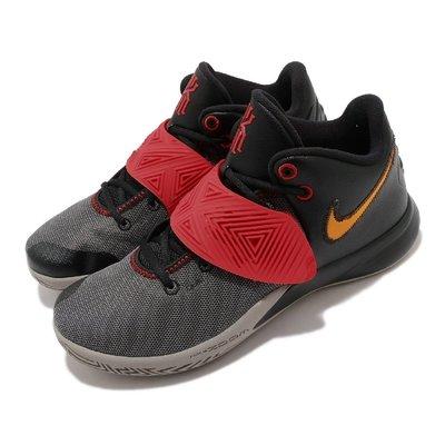 =CodE= NIKE KYRIE FLYTRAP III EP 魔鬼氈籃球鞋(灰黑紅)CD0191-011 XDR 男