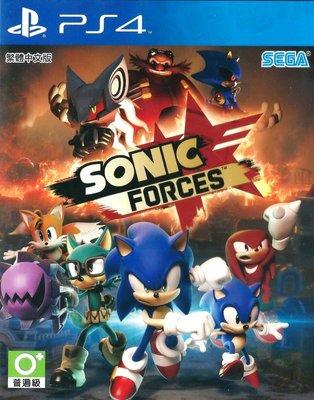 【二手遊戲】PS4 音速小子 武力 SONIC FORCES 中文版 狂熱 索尼克 奈克魯斯 蛋頭博士【台中恐龍電玩】