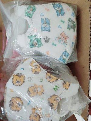 淨新兒童3D立體卡通口罩(無痛感耳掛)貓頭鷹/交通工具 適合3-8歲