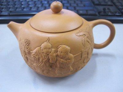 二手舖 NO.1631 紫砂壺 中國宜興 土胎好 手工細膩
