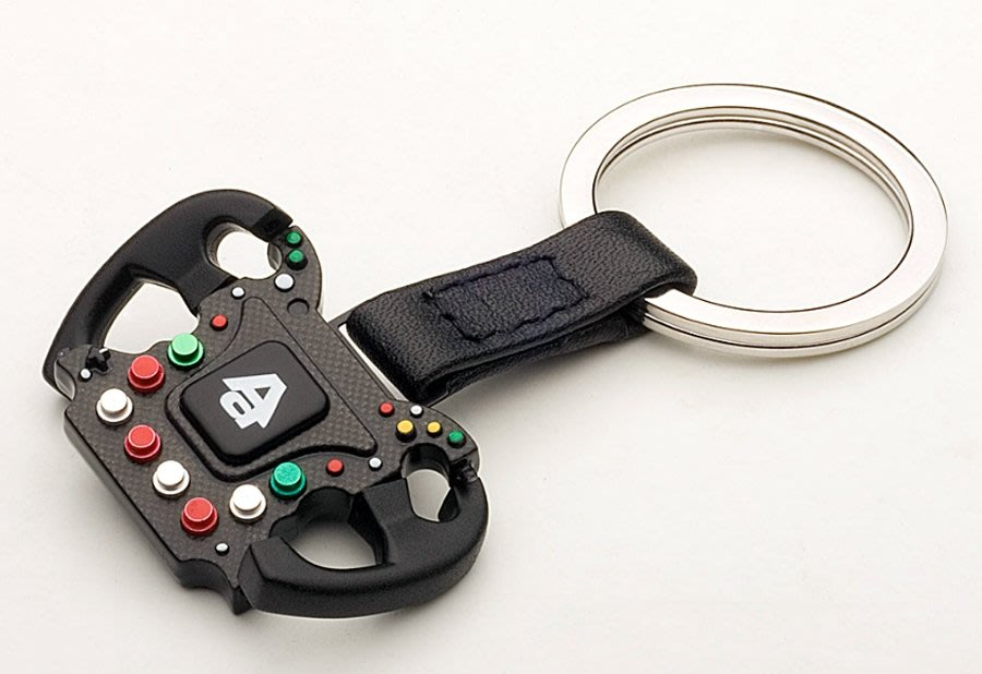 Autoart方向盤鑰匙圈