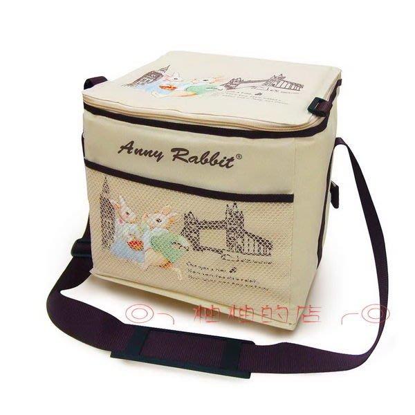 ╭*雲蓁小屋*╯安妮兔保溫保冷袋附網 2511 大容量環保購物袋 袋子 手提袋 收納袋 袋子