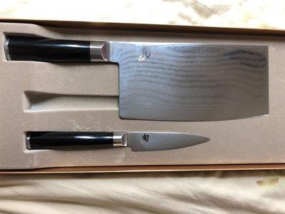 旬刀, Shun, Kai 中式菜刀, 削皮刀組