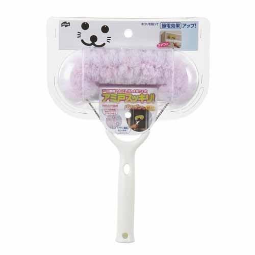 【日本人氣商品】小海豹紗窗冷氣口清掃刷-綠色/粉色