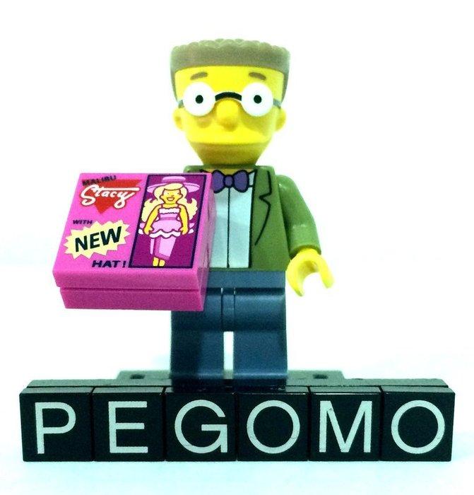 【痞哥毛】LEGO 樂高 71009 15 人偶 辛普森2代 Smithers