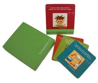 ~天使.香氛.心世界~~漣漪卡(綠版/小孩風)Ripple Cards(紙盒版) 特價 630 元