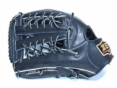貳拾肆棒球-日本帶回 Zett pro status 目錄外限定版硬式外野手手套/日製