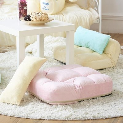 折疊懶人沙發 日式單人創意功能榻榻米 客廳臥室飄窗電腦庫魯沙發