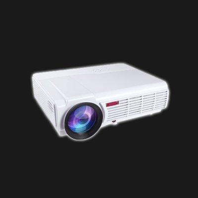 5Cgo【發燒友】創芝家用 LED 高清投影儀 WiFi 辦公投影機 1080p 手機無線3D 家庭劇院--標準版