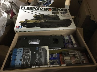 Tamika 1/16 R/C  German Flakpanzer Gepard kit 56003