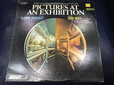 開心唱片 (PICTURES AT AN EXHIBITION / ) 二手 黑膠唱片 DD409