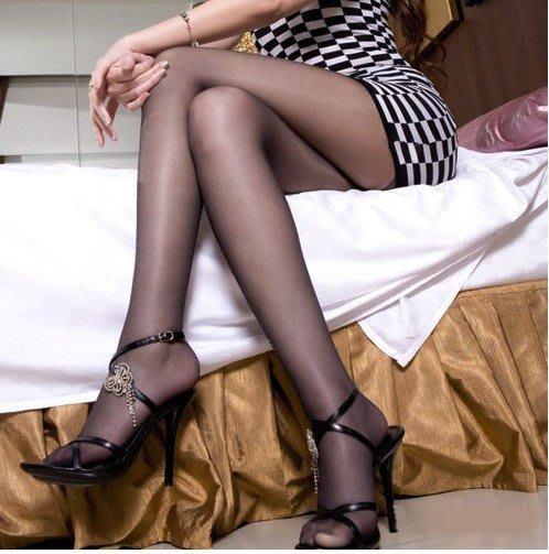 【惑☆夜東京】meizi 性感美腿 時尚魅惑連體褲襪-苞芯絲(夏季清涼顯瘦款) 透明黑 WAE-M8980050