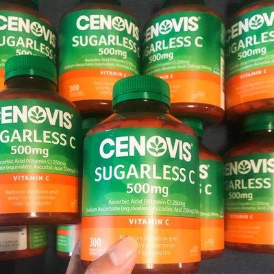 「新包裝」Cenovis Vitamin C 無糖維生素C 300粒