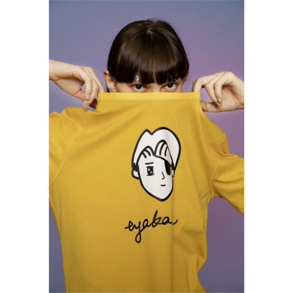 POMELO柚 PUMA TYAKASHA 系列 短袖T恤 塗鴉 黃色 男款 595735-75