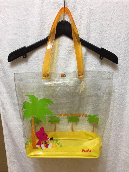 [變身館日本服飾]~Post Pet~MOMO熊~手提袋~補習袋~便當袋~萬用袋~托特包~防水~日本進口~全新現品