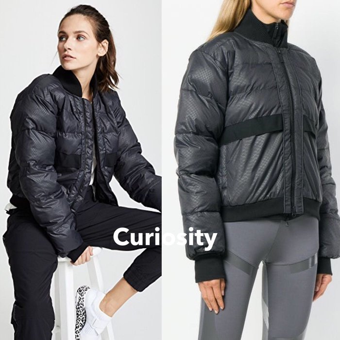 【Curiosity】adidas by Stella McCartney短版運動外套黑XS號$12800↘$7888