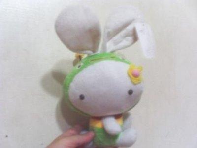 全新可愛蜜蜂變裝兔子玩偶高歐25公分