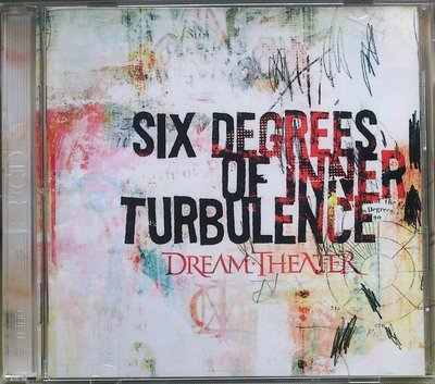 Dream Theater - Six Degrees Of Inner Turbulence 2枚組 二手台版