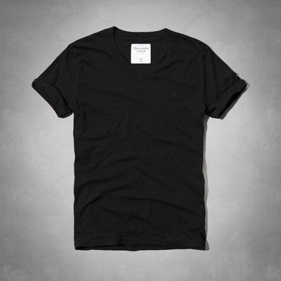 【天普小棧】A&F Abercrombie&Fitch Catamount Rolled Cuff Tee短袖T恤XXL