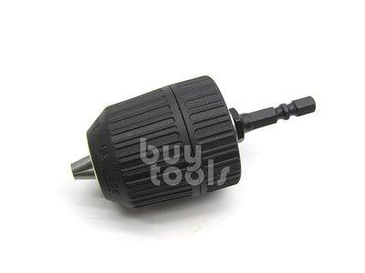 BuyTools-《專業級》免工具省力型氣動起子轉氣動鑽夾頭/充電電動起子機轉電動鑽夾頭/三分電鑽夾頭/台灣製造「含稅」