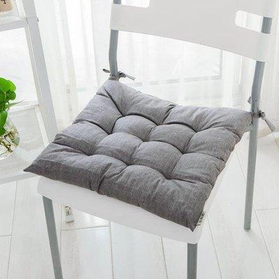 現代簡約日式加厚坐墊餐椅墊子防水棉麻 【粉紅記憶】