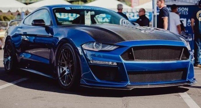 DJD19080666 FORD Mustang GT500款 碳纖維前保桿 依當月報價為準