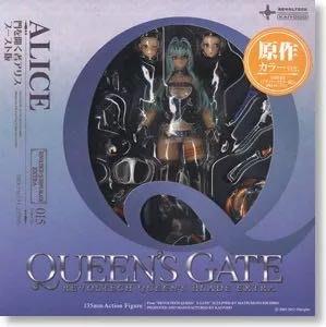 全新未開 山口式 revoltech queen 女王之刃 015 愛麗絲 alice 藍色 藍髮 女皇 1款