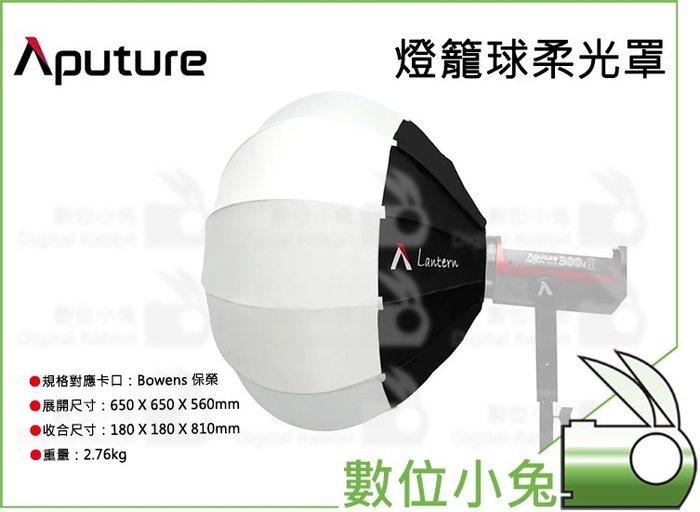 數位小兔【Aputure Lantern 燈籠球柔光罩】柔光球 燈籠球 柔光罩 快收式 球形柔光箱