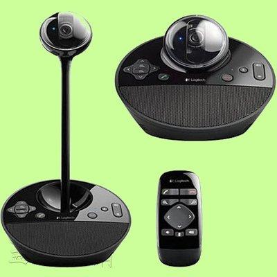 5Cgo【權宇】羅技Logitech BCC950  USB高倍數自動變焦視訊會議攝影機 Webcam Skype 含稅