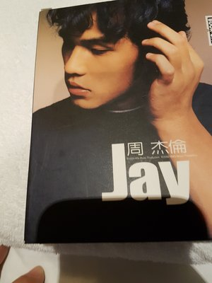 周杰倫首張專輯早期版cd+vcd