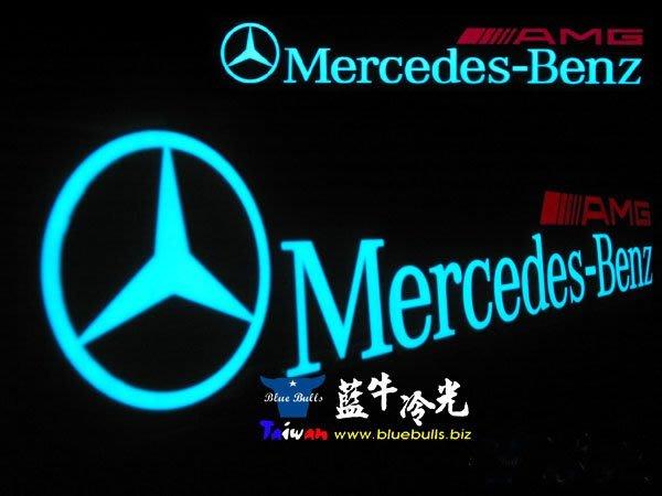 【藍牛冷光】賓士 奔馳 BENZ AMG 式樣冷光貼紙 煞車燈 60CM*10CM 發光圖樣文字皆可加價修改訂做