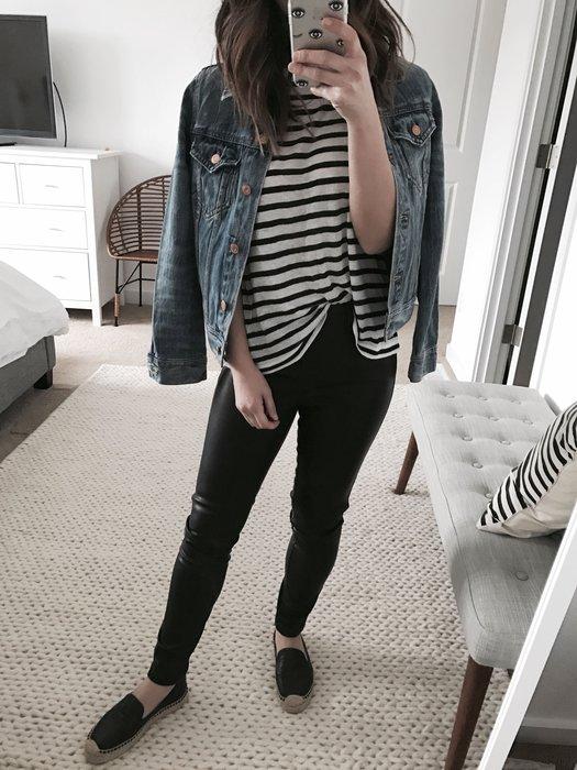 【現貨】折扣 Black 皮褲 修身 小腳褲 legging 25