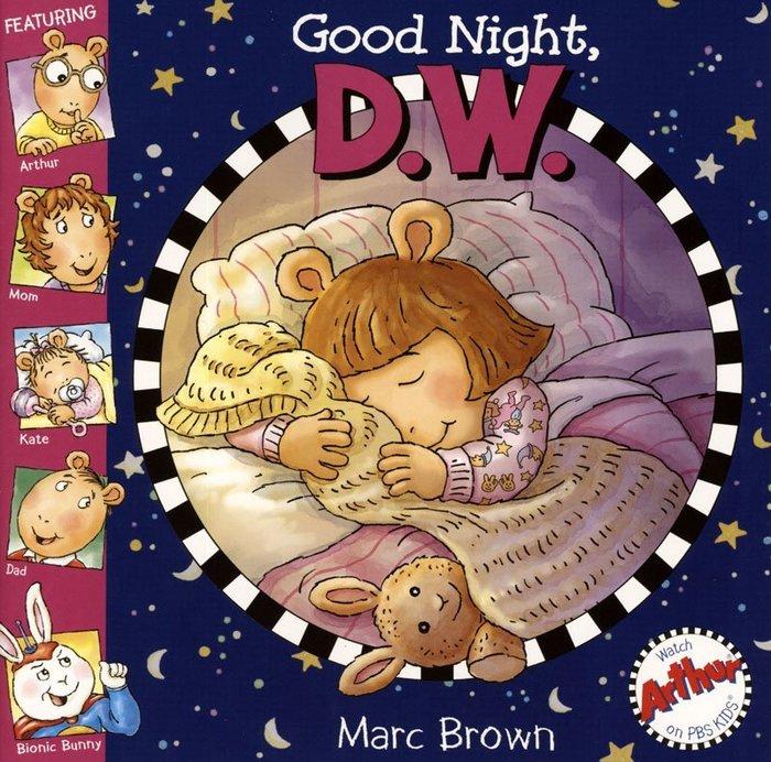*小貝比的家*GOOD NIGHT D.W./BKCD/3~6歲/床邊故事
