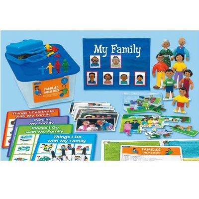 【晴晴百寶盒】美國進口 主題教學2-家庭 LAKESHORE 尋寶遊戲感統教具益智遊戲環保無毒玩具遊戲感官W312