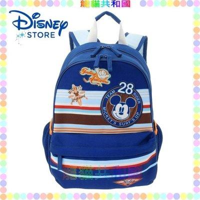 ※龍貓共和國※日本正版迪士尼商店Disney《米老鼠 米奇 幼童兒童減壓後背包 小學生卡通書包 雙肩包》