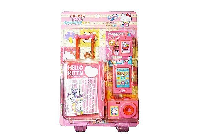佳佳玩具----- 正版授權 Hello Kityy KT出遊旅行箱 玩具 扮家家酒 【05A225】