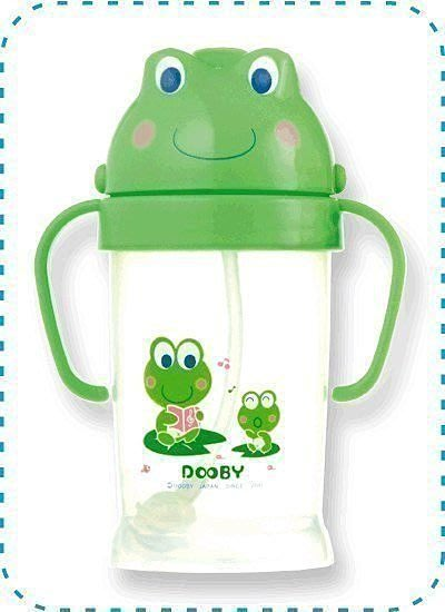 【紫貝殼】【DOOBY 大眼蛙】神奇喝水杯250cc 250ml 最新款【保證原廠公司貨】綠色款