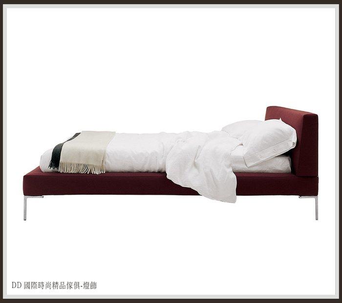 DD 國際時尚精品傢俱-燈飾B&B Italia Charles bed(復刻版)現品 雙人床檯/床架