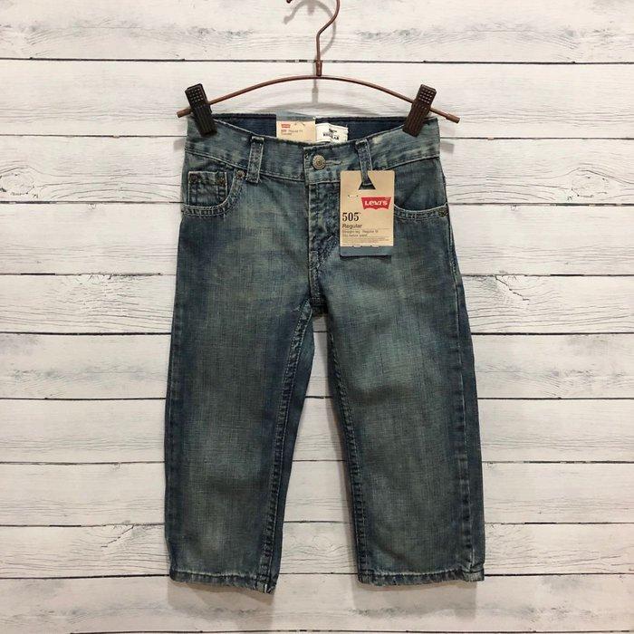 Maple麋鹿小舖 美國購買 童裝品牌 LEVI'S  男童牛仔長褲 * ( 現貨2T )